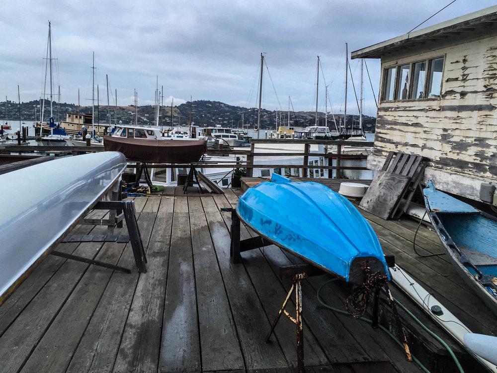 Wooden Boats - Sausalito