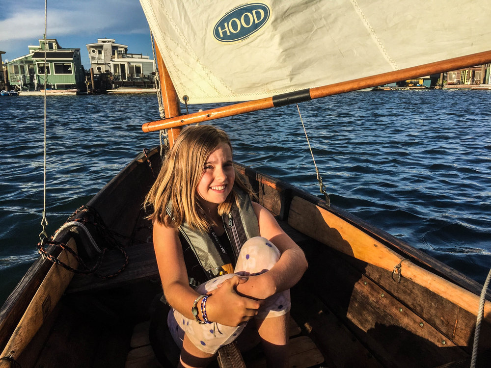 Sailing with Child