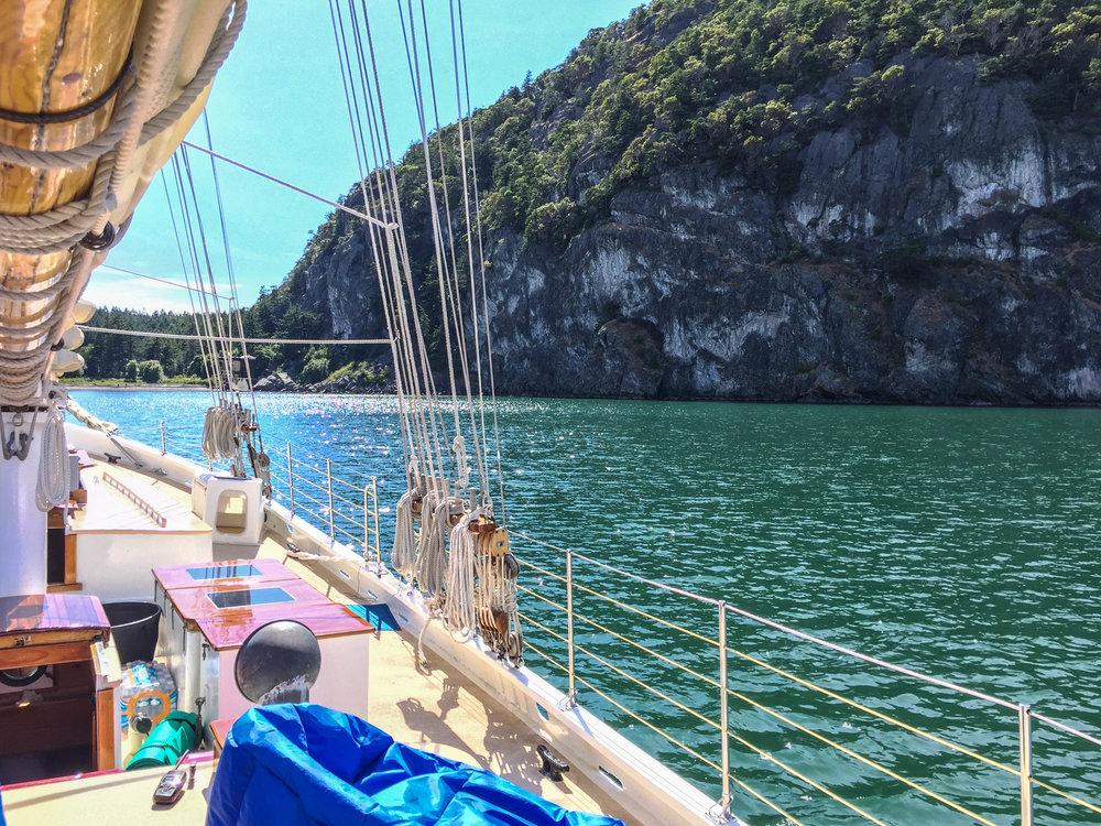 Freda B Sailing