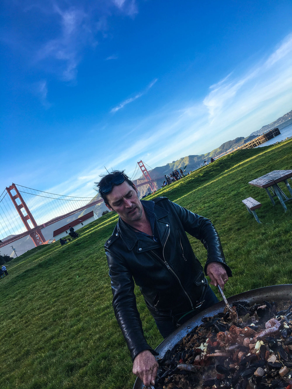 Crissy Field Catering - David Robert Johnson