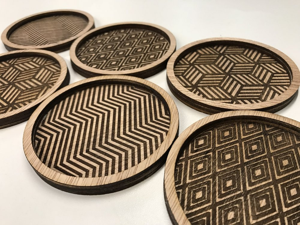 Figure 1:  Coasters