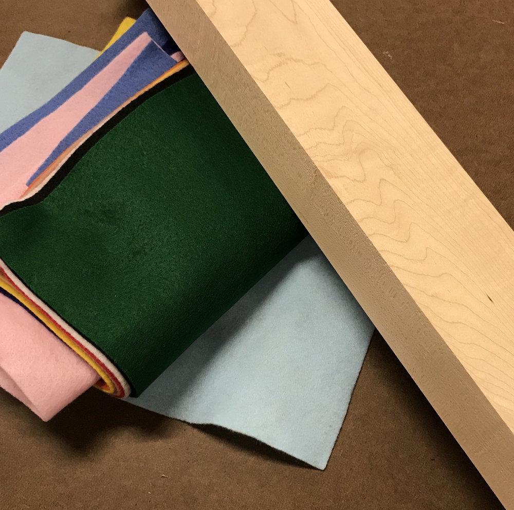 Figure 1 : Materials