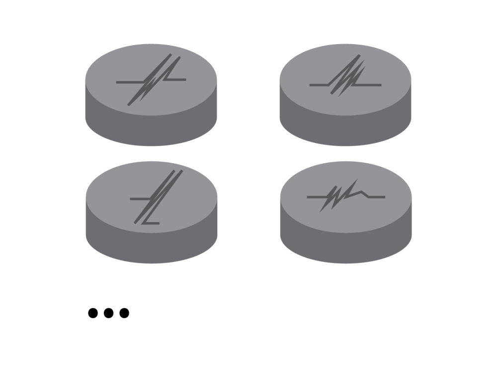 Figure 2 : Letter Coins