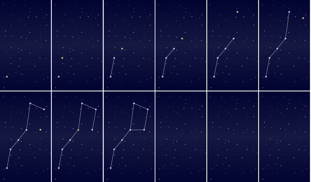 Figure 3:  Constellation App background development