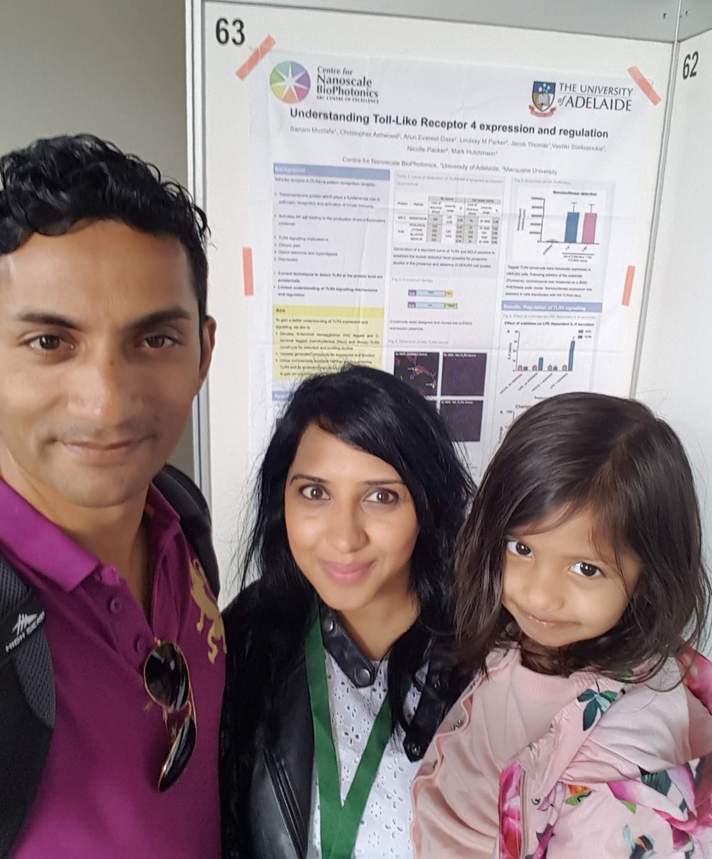 Due to dependent travel awards, I was able to take my daughter and my husband as her carer to to Portugal. This allowed me to attend an important conference in 2018.