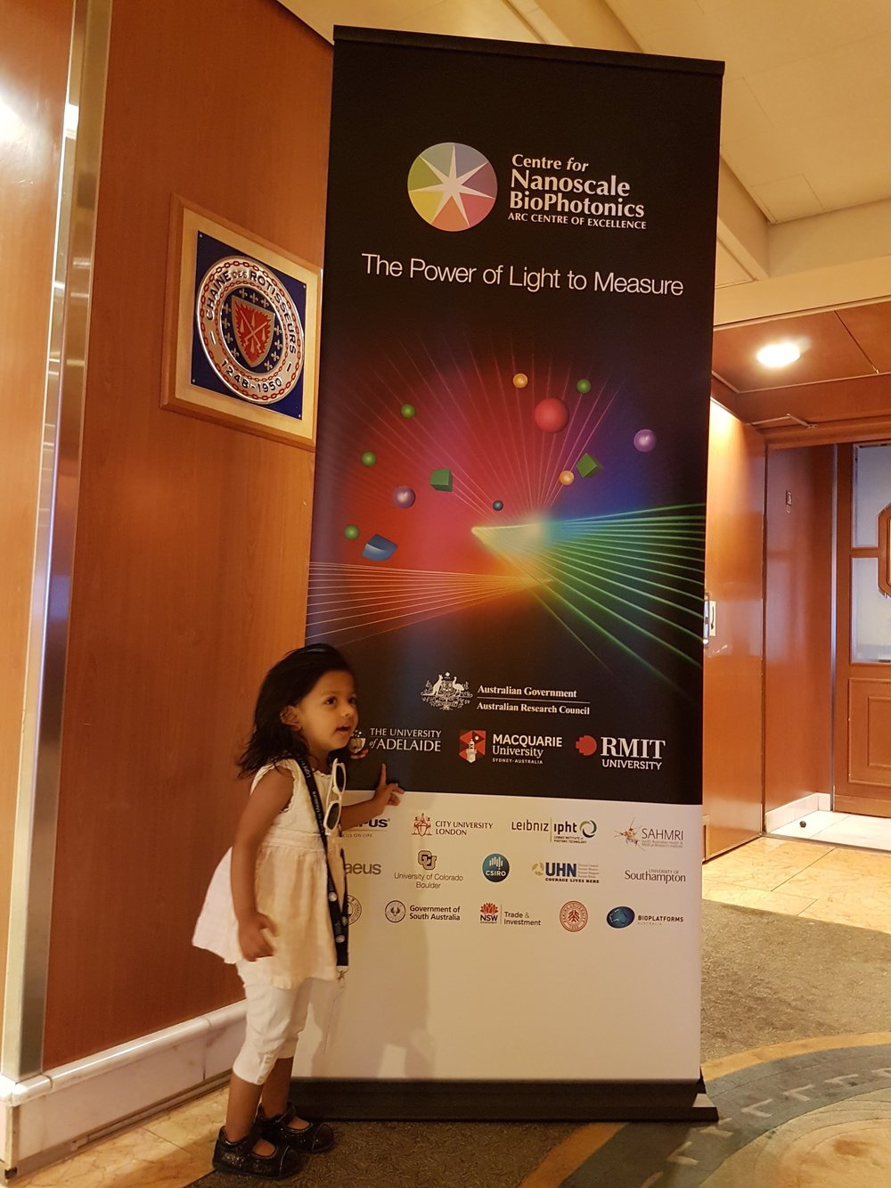My daughter accompanied me to the CNBP annual conference in 2017 and 2016. CNBP have a family friendly policy and support dependent travel.