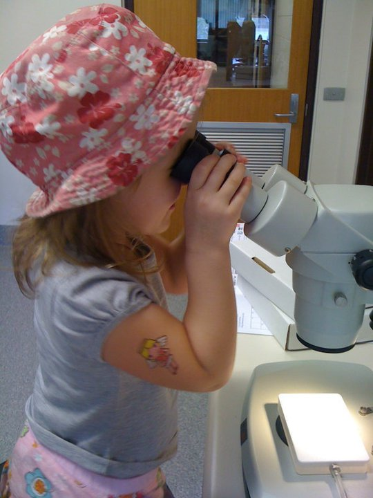 An early interest in science