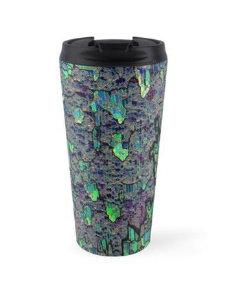 """Ziggurat"" Travel Mug"