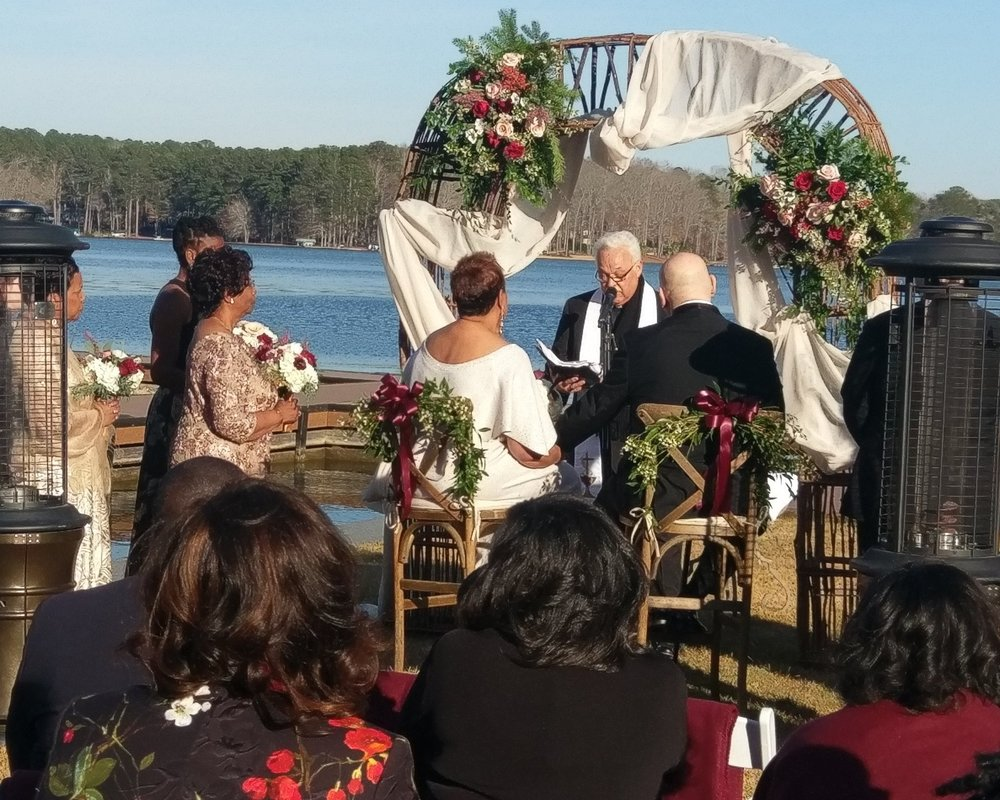 Ceremony Service - $250. This includes speaker setup and lapel mic for your officiant; Handheld mic for readings etc; 1-Hour of music from pre-ceremony seating to the recessional.