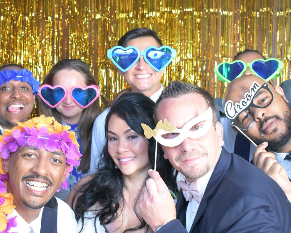 Photo Booth - $750 SPice up your party with our state of the art open-air photo booth.  enjoy a custom design for take home party photos for your guests. includes photo kiosk, prints, backdrop and memories!