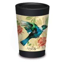 CUPPACOFFEECUP is a New Zealand-made reusable takeaway coffee cup. Instead of disposing of a cup every time you have a takeaway coffee, re-use your CUPPACOFFEECUP.  The idea behind CUPPACOFFEECUP was to create a reusable cup that is lightweight, has striking full colour imagery and looks and feels much like a disposable cup.   $16.95