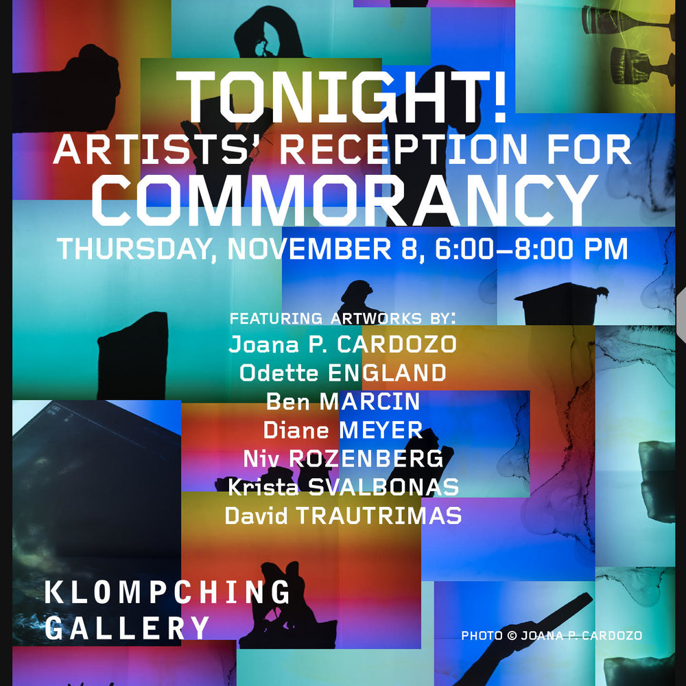 Klompching Gallery - COMMORANCYJoana P. Cardozo | Odette England | Ben Marcin | Diane Meyer | Niv Rozenberg | Krista Svalbonas | David TrautrimasNovember 2 — December 7, 2018Klompching Gallery is delighted to present Commorancy, a group exhibition of contemporary photographs, curated around the theme of a place of residence or habitation. To be commorant, means to occupy a space temporarily. In each of the seven photographers' artworks, this theme is explored through the conduit of architecture.Artists' Reception: Thursday, November 8, 6:00–8:00pmCurator's Talk: Thursday, December 6, 7:00–7:30pm