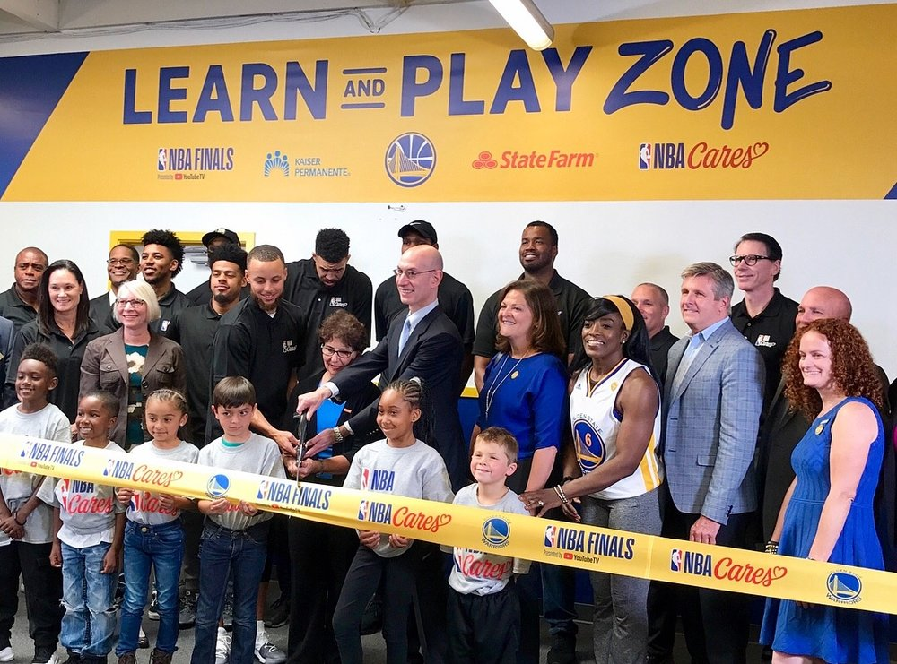 Learn & Play Zone Opening