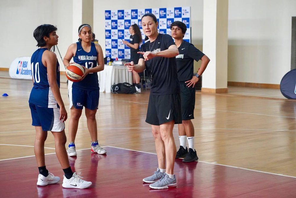Sanjana Ramesh can be a role model, says jennifer azzi -