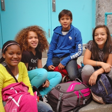 Diverse group of students sitting on school steps-4 (e-msbrooklyn).jpg