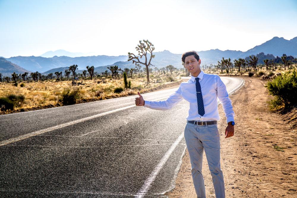 Victor Muñoz - Film Look | Suit & Tie