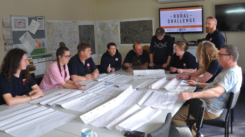 Malmsbury Brigade developing their Gender Equality Action Plan 2018