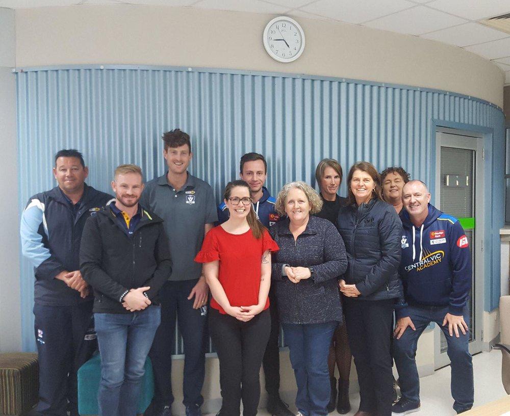 AFL Central Victoria undertaking a gender equality workshop 2018