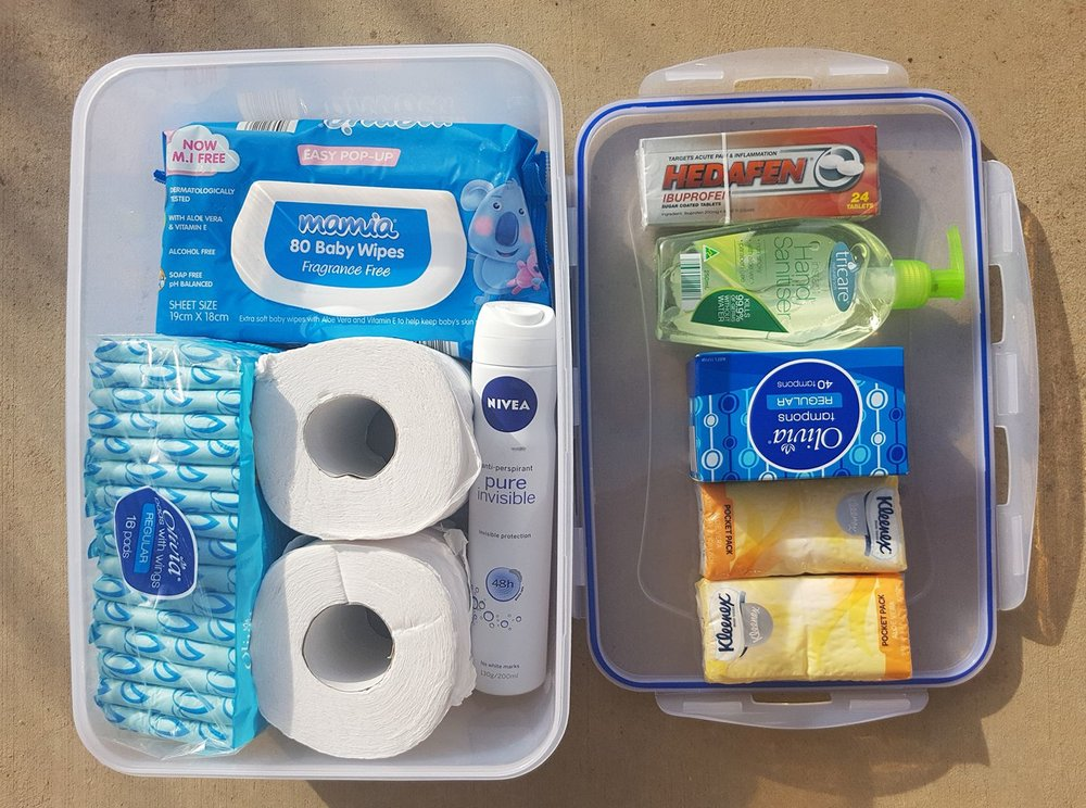 Gender Equality Action Plan idea: adding sanitary products to the welfare kit on CFA appliances