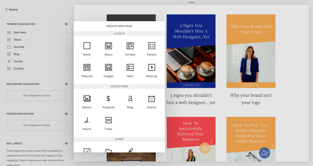 My favorite thing about Squarespace is that everything just works!