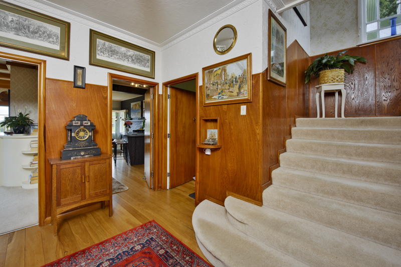 The home has many features including Oak stairways, wooden floors, with a mix of contemporary and character flair with modern comfort.