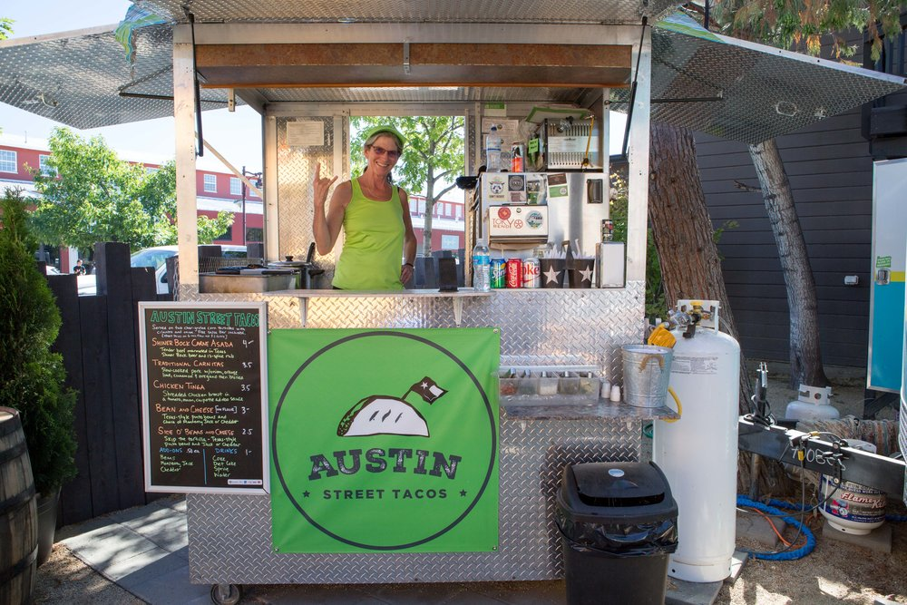 Austin Tacos Food Cart - The Podski