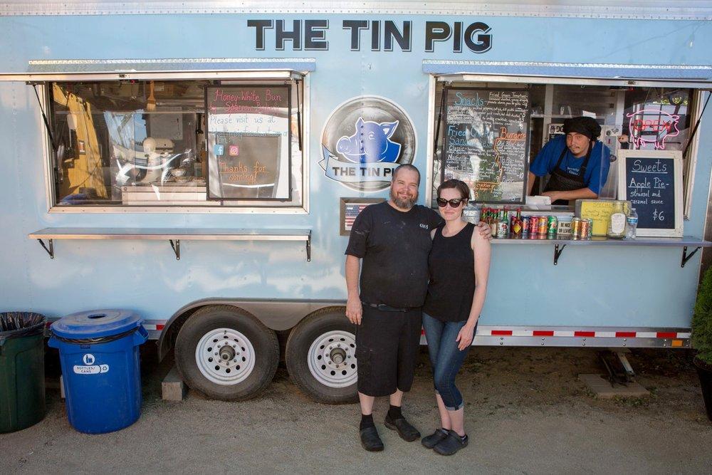 The Tin Pig - Food Cart - The Podski