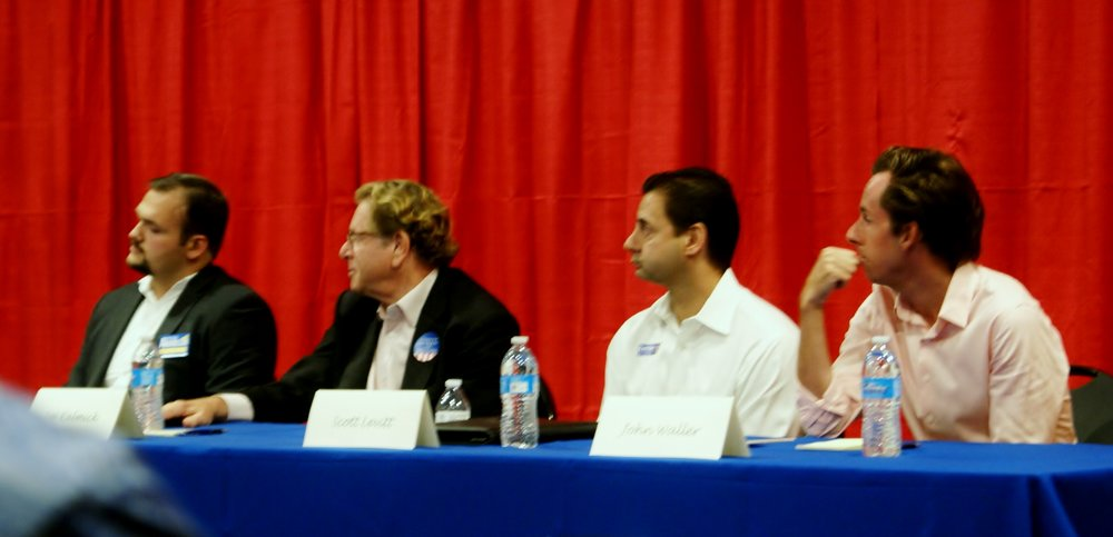 District 1 Candidates at the Readh 10-5.JPG