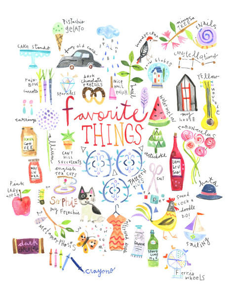 Favorite things