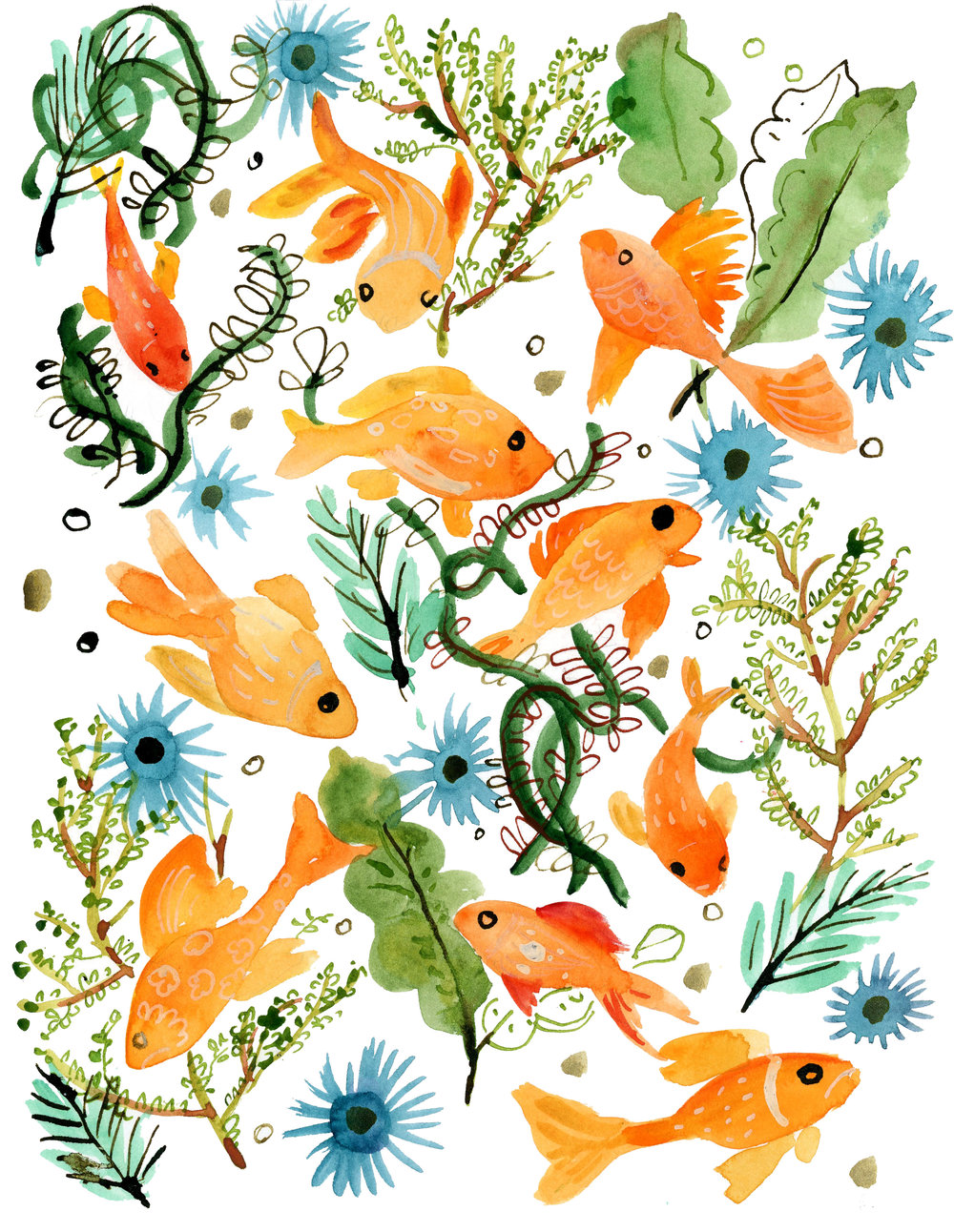 goldfishandseaweed