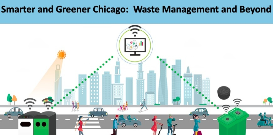 The Marketeers - 2rd place winners   Smart cities i Ot - smarter and greenner chicago: waste management and beyond