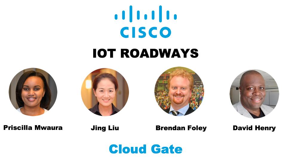 Cloud gate - 3nd place winners    Smart cities i ot - i ot roadways - innovative safety,