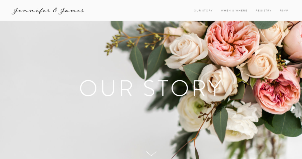 Beautiful Pretty Wedding Websites