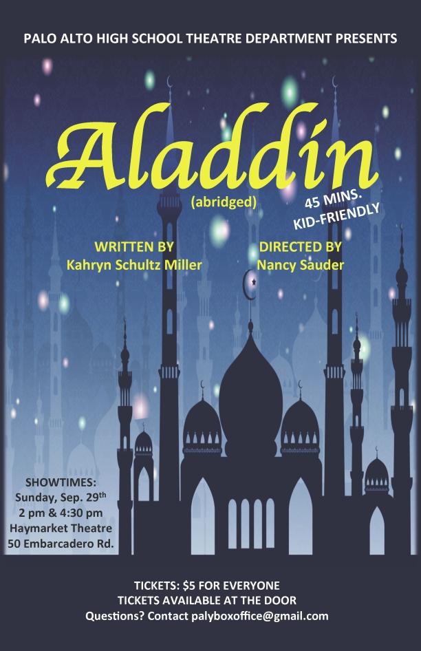Aladdin - September 2013Production PhotosCast List