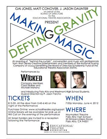 Making Magic, Defying Gravity - June 4, 2012