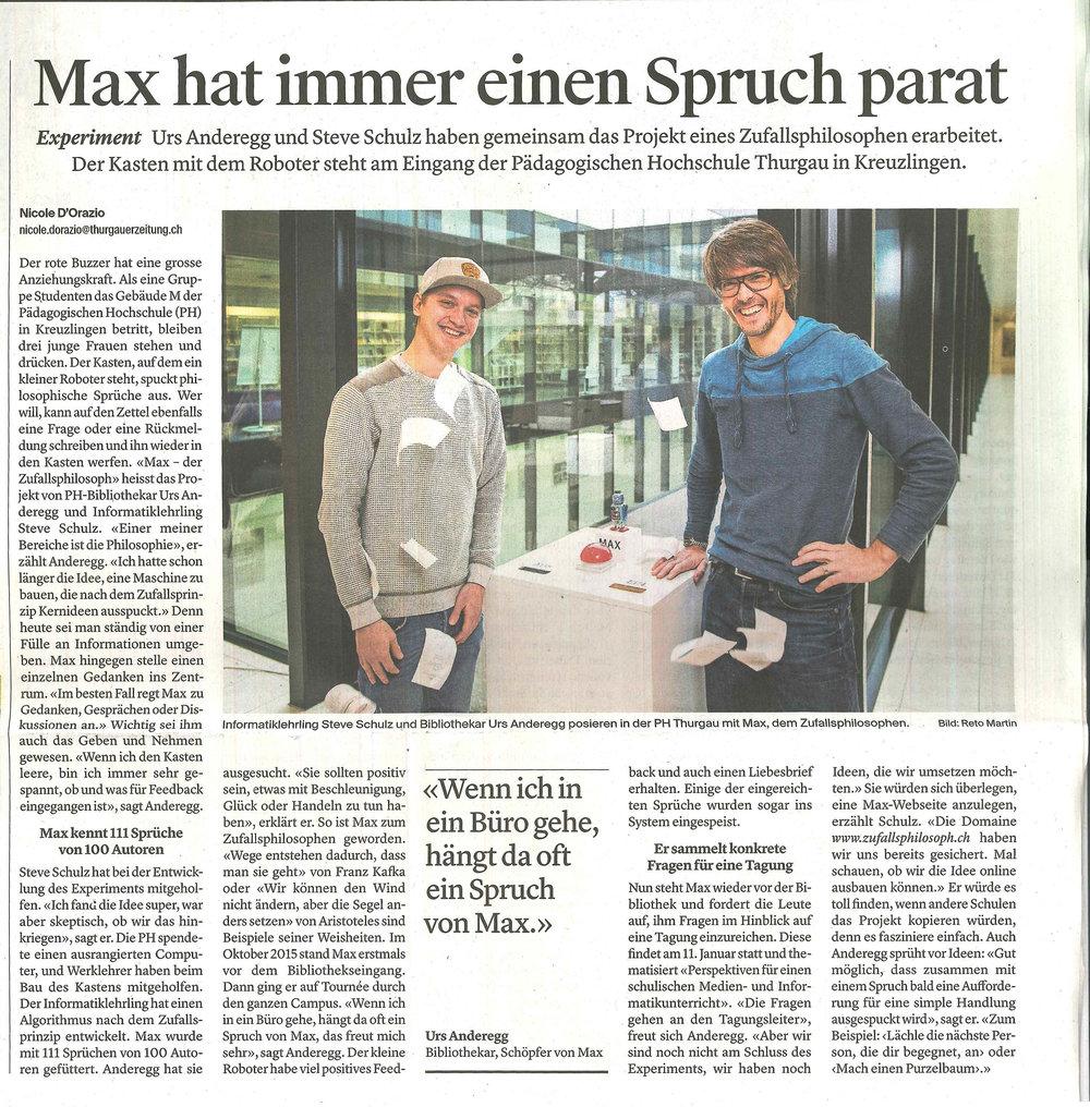 Artikel Max in der Thurgauer Zeitung 22.12.2016.jpg
