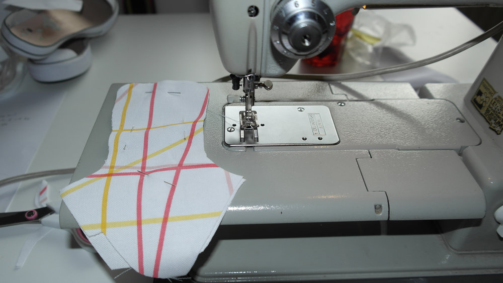 Sewing the sewing patterns