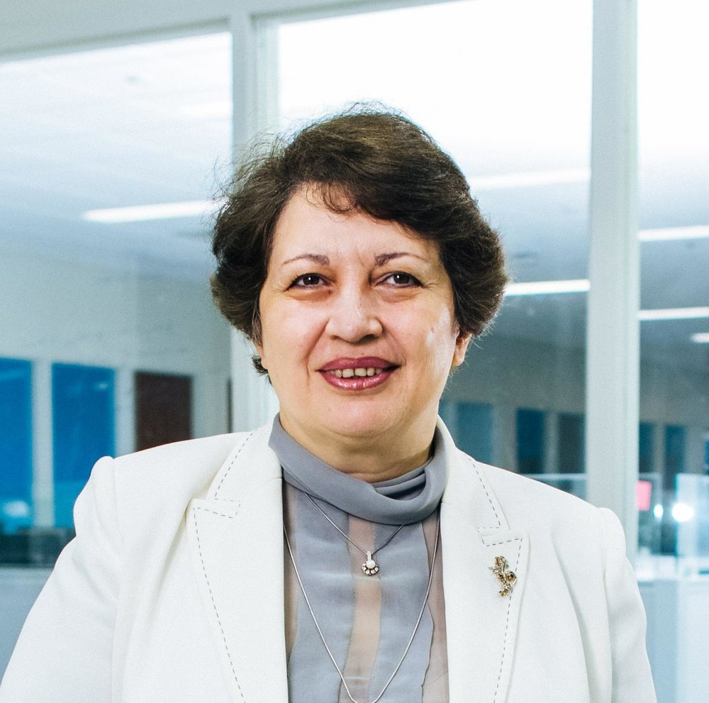Professor Naira Hovakimyan is leading the development of a drone delivery network by incorporating ride-share systems.    PHOTO COURTESY OF NAIRA HOVAKIMYAN