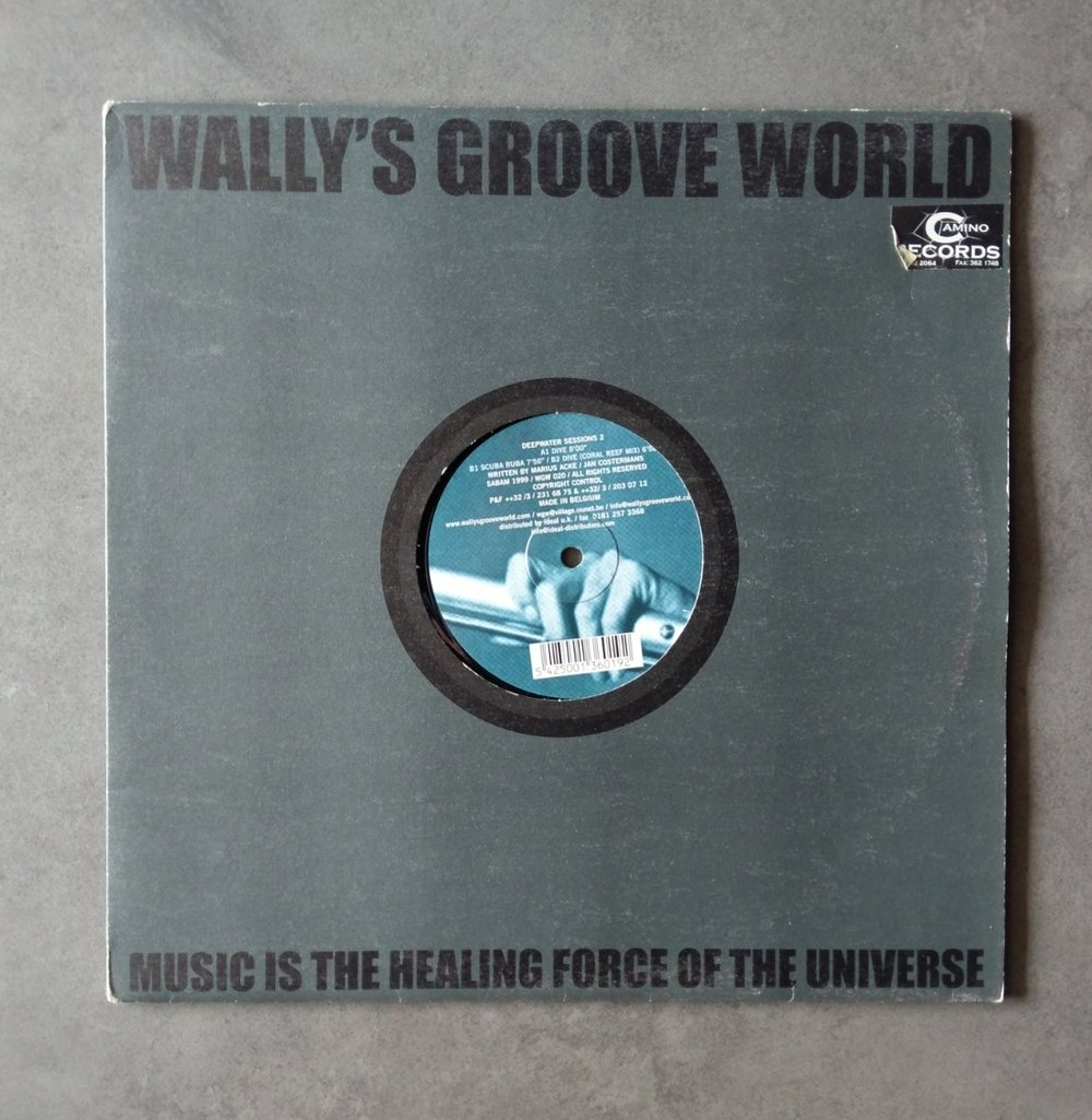 Artist : Deepwater    Track: Sessions #2 [EP]    Label: Wally's Groove World [WGW002]    Release date: 2000    Go to track: Dive (Original Mix)    Remarks : A deep and 'underground' styled house gem.    YouTube     LINK
