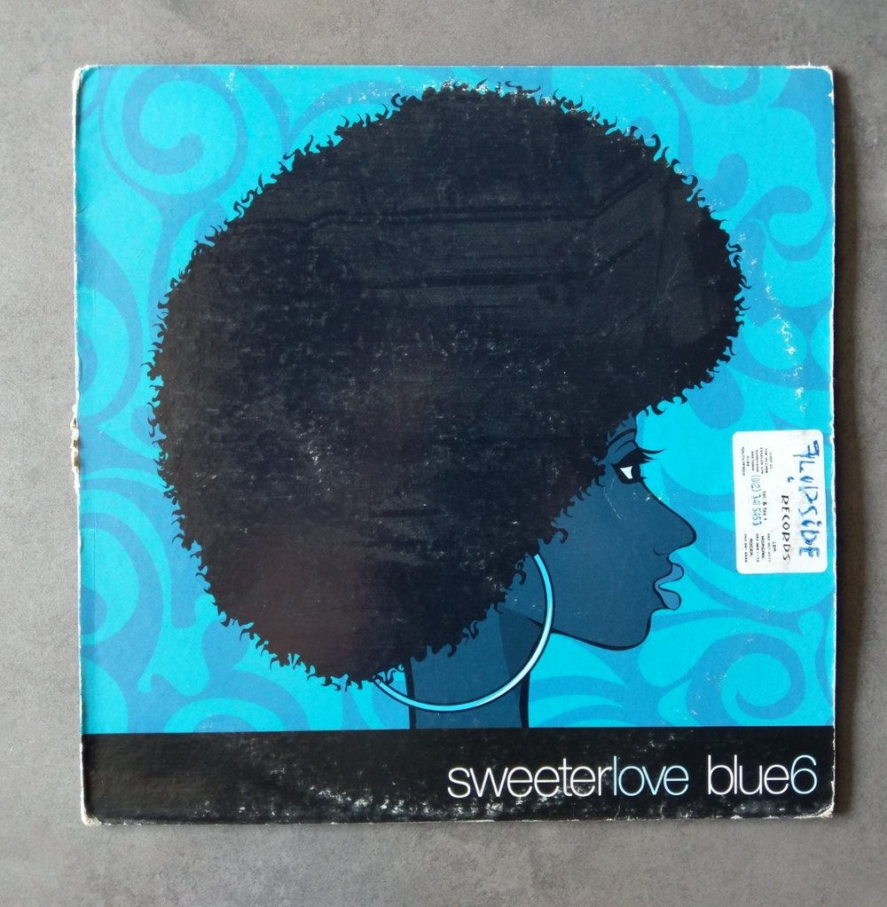 Artist : Blue 6    Track: Sweeter love [Single]    Label: Wave Music [WM50034-1]    Release date: 1998    Go to track: Sweeter Love (Jay's Full Vocal)    Remarks : Made popular by DJ Fresh from his 'Fresh House Flava' compilations. Every DJ wanted this track and for good reason. When ever this track would come on, people would go nuts. They all knew the lyrics and would sing along. Naked Music & Wave Music always had amazingly designed record covers for their artists, unique and amazing.    YouTube    LINK