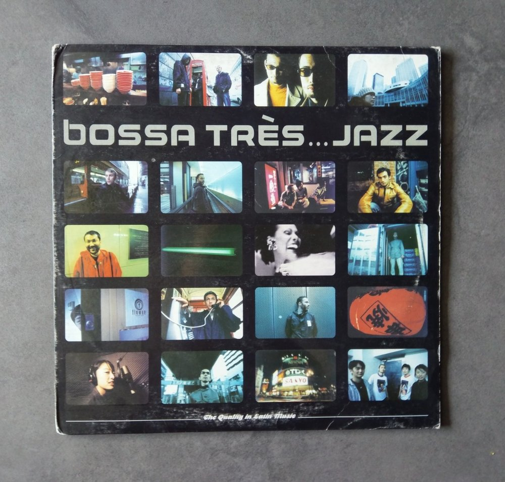 Artist : Various    Album : Bossa Tres … Jazz    Label: Yellow Productions [YP040]    Release date: 1999    Go to track:   Calm - People from the Sun and the Earth    Remarks : Not entirely a house music album , but this album will most definitely expand your musical horizons . Genres found on this album from Down Tempo to Future Jazz , Latin and House.