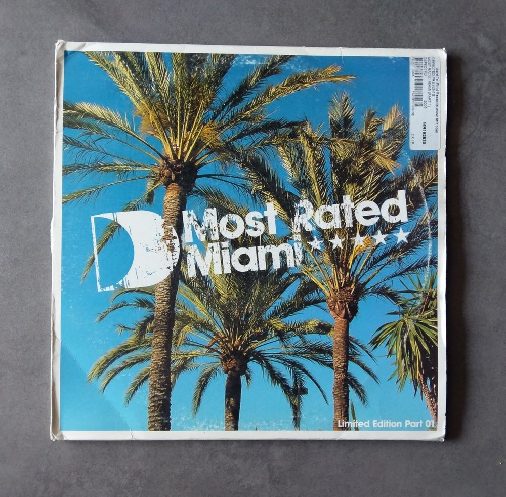 Artist : Various    Album : Most rated Miami Part01    Label: Defected [RATED02LP1]    Release date: 2005    Go to track:   Wahoo - Make em shake it    Remarks : The only reason why I bought this album to begin with was for 'Make em shake it' , it was so worth it, the damage that track used to make on the dancefloor was truly memorable. Other noticeable tracks from Rasmus Faber, Copyright and Kings of Tomorrow.