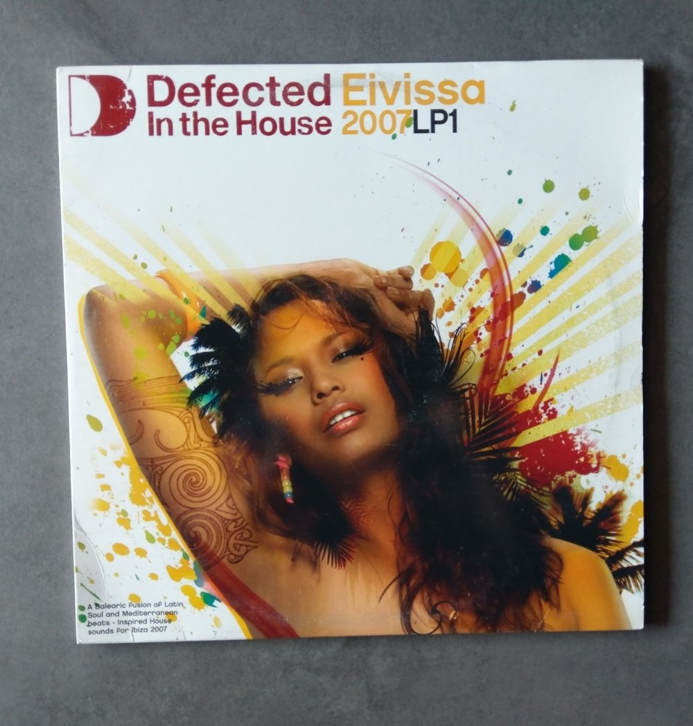 Artist : Various    Album : Defected in the house - Elvissa 2007 LP1    Label: ITH Records [ITH21LP1]    Release date: 2007    Go to track:   Marc Evans - Give me joy    Remarks : One of the best Defected compilations on my opinion , every single track is amazing. You've got tracks from Dennis Ferrer , Osunlade, Mark Grant and many more artists.