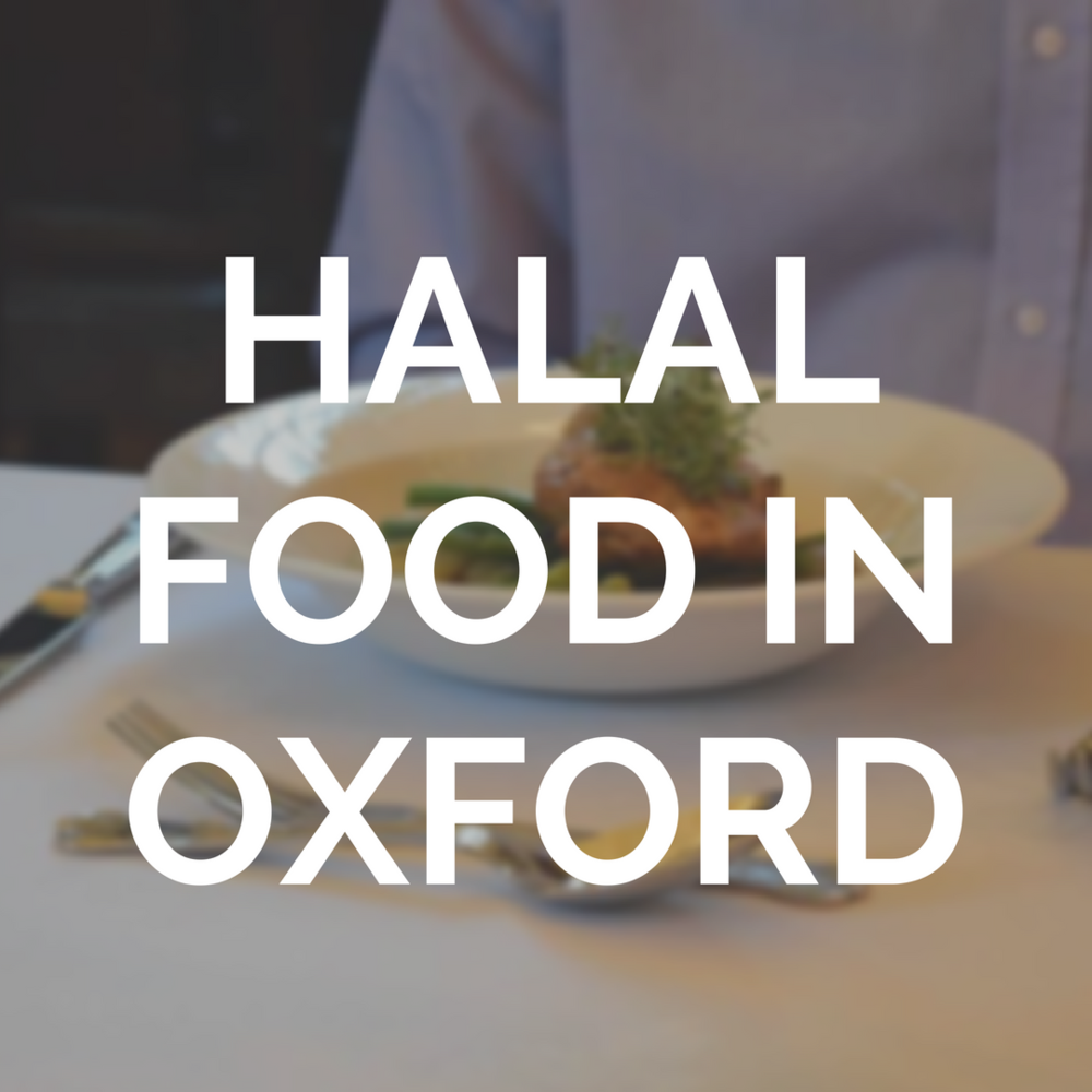 Many restaurants, shops, and takeaways offer halal food around Oxford. Find out where to go for your halal food fix.