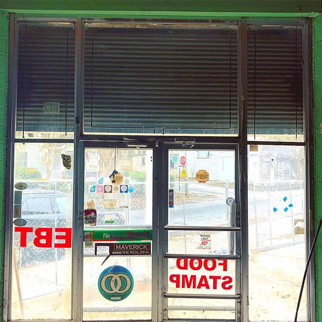 Front door no more. Patio coming soon🤗#neighborgoodsatl #112ormond