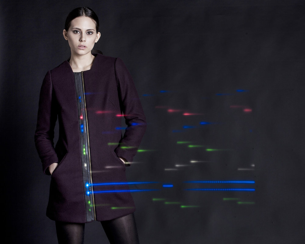 Rainbow Light Coat, 2014