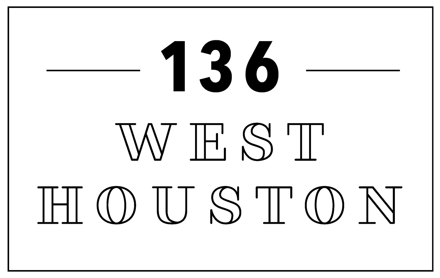 136 West Houston