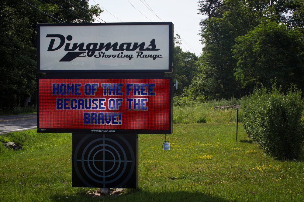 WELCOME TO THE DINGMANS SHOOTING RANGE   PIKE COUNTY'S PREMIER INDOOR SHOOTING FACILITY  AN INTERNATIONAL DESTINATION