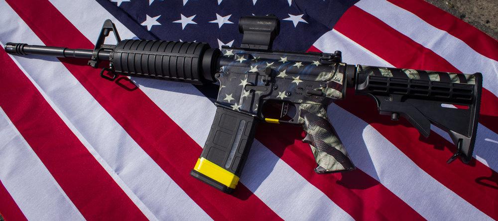 AR-15 FLAG