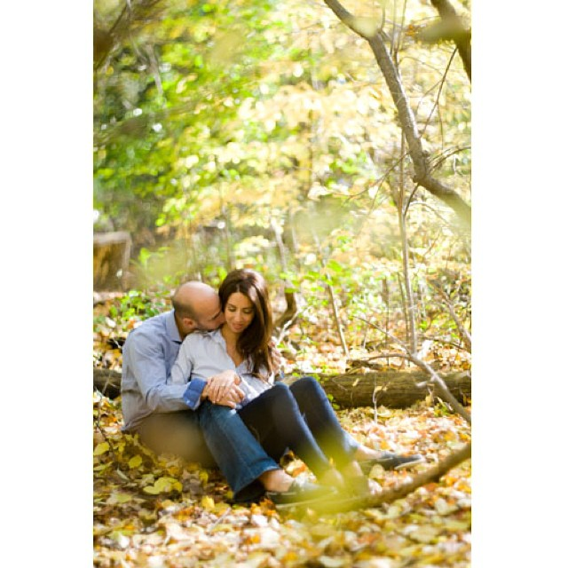 Engagement. #fall #fallcolors #michaelfrancisphotography #love